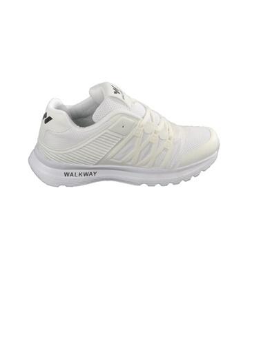 Walkway 1785 Siyah Kadın Spor Ayakkabı Beyaz